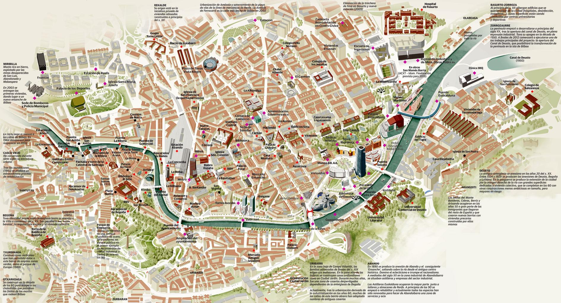 Mapa De Jaen Capital.Mapa Turistico De Jaen